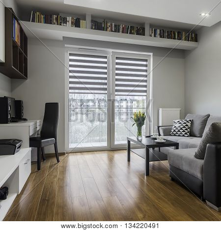 Functional And Comfortable Living-room