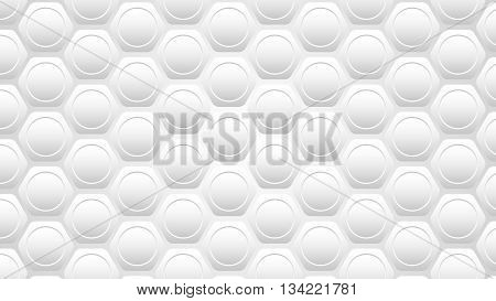 Silver Honeycomb Vector Background | Honeycomb Pattern | Hexagon Pattern