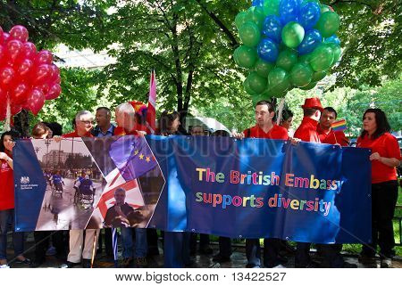 British Embassy at Gay Fest Parade