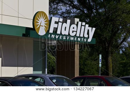 Indianapolis - Circa June 2016: Fidelity Investments Consumer Location. Fidelity is the Fourth Largest Mutual Fund Group in the World III
