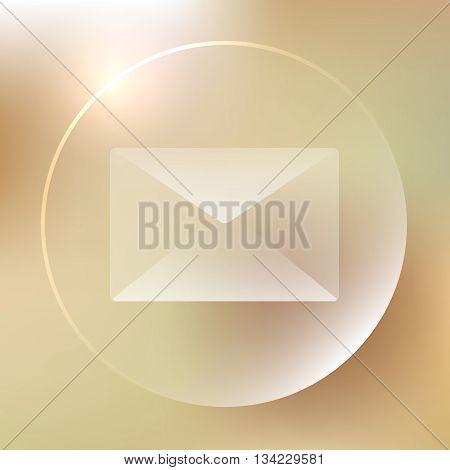 Envelope Glassy Icon