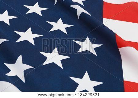 Ruffled National Flags - Usa