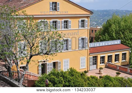 Grasse France - april 17 2016 : the Fragonard perfumery