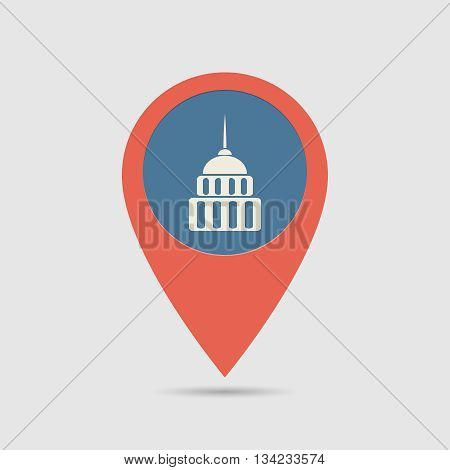 Map Pin Goverment