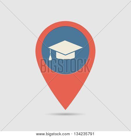 Map Pin High School