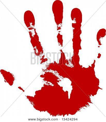 impresión de mi mano