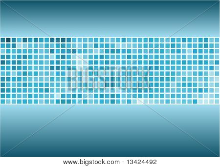 Abstract background made from squares