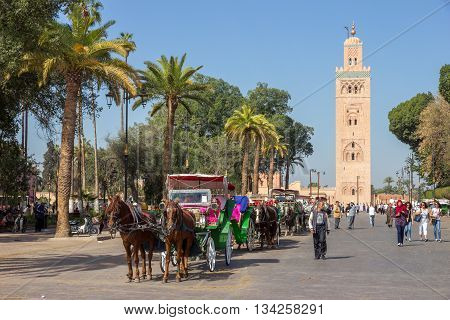Horse-drawn Carriages Marrakech