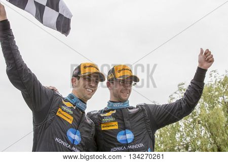 Detroit, MI - Jun 04, 2016:  The IMSA WeatherTech Sportscar Championship teams take to the track for the Chevrolet Detroit Belle Isle Grand Prix at Belle Isle Park in Detroit, MI.