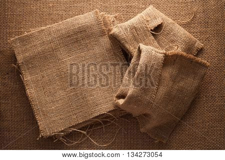 Sack Flax Still Life Sackcloth Background