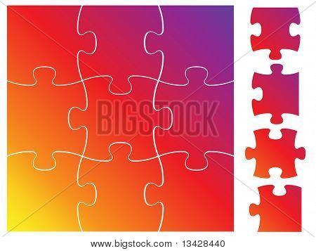 komplette Puzzle / Jigsaw set
