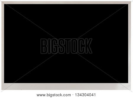 photo frame isolated on a white background