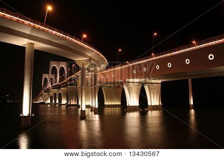 Governor Carvalho Bridge in Macau