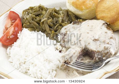 Country Fried Steak And Gravy Meal