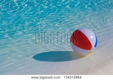 Inflatable Colorful Ball Floating