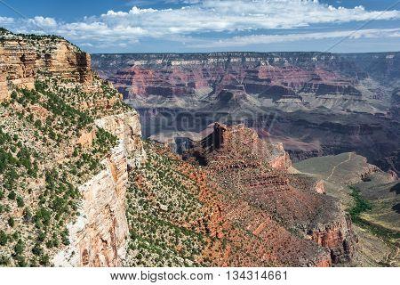 Formations At Grand Canyon, South Rim, Arizona,  Usa