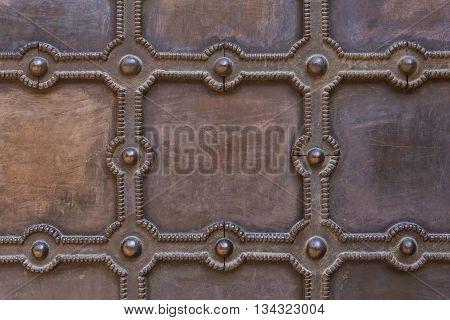 Metal Floor Or Wall
