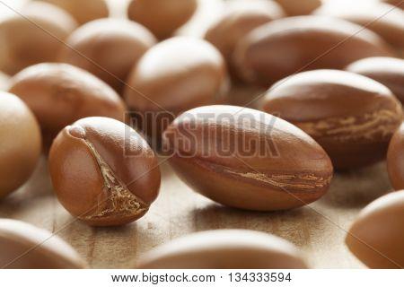 Traditional Moroccan argan nuts