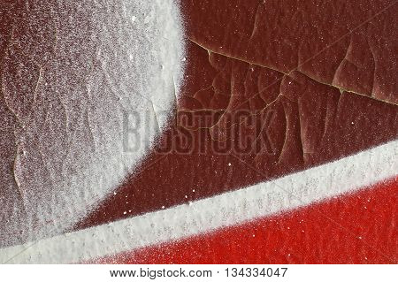 Abstract Textured Background-close Up-street Art