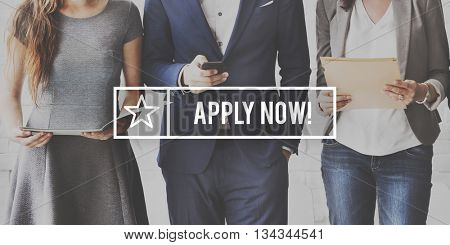 Admission Apply Now Applicants Education Concept