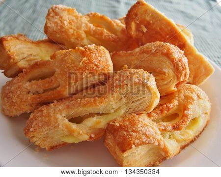 Breakfast Pastries, baked food, Pastry, Plate of Baked goods