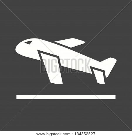Flight, loading, cargo icon vector image. Can also be used for logistics. Suitable for mobile apps, web apps and print media.