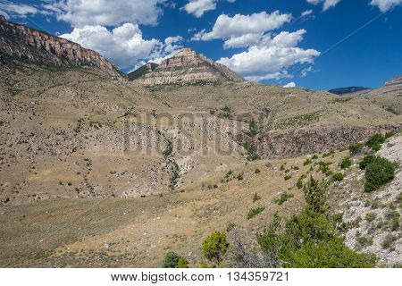 Bighorn National Forest in Wyoming, United States