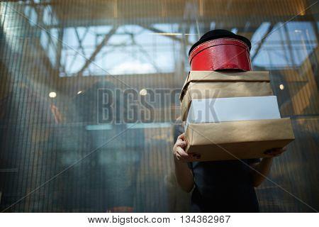 Shopaholic after shopping