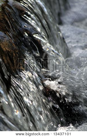 rustling water fall