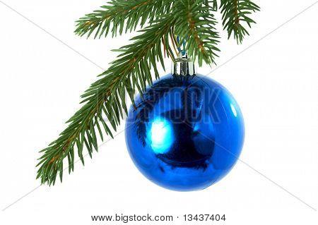 blue balls , christmas