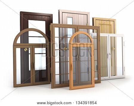 Advertising Windows and doors (done in 3d rendering)