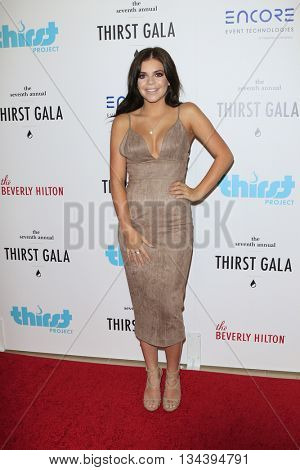 LOS ANGELES - JUN 13:  Griffin Arnlund at the 7th Annual Thirst Gala at the Beverly Hilton Hotel on June 13, 2016 in Beverly Hills, CA