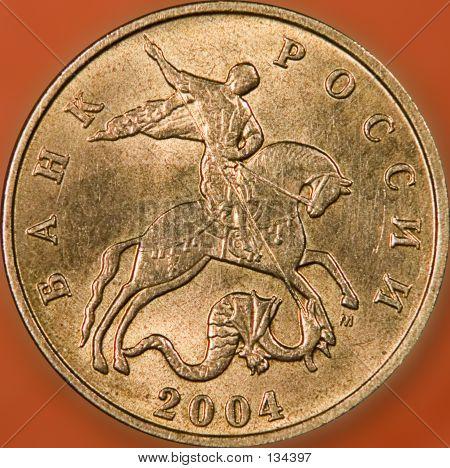 50 Copeeks Russian Coin