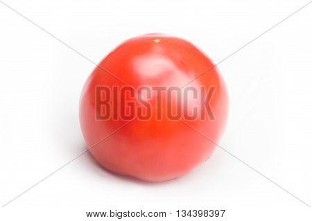 Ordinary Tomato On White