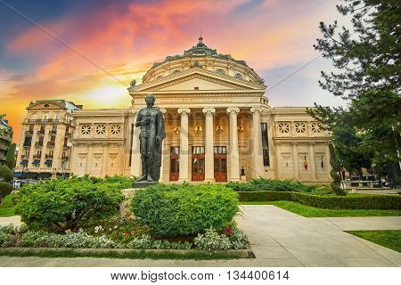Bucharest / Bucuresti Ateneul Roman, Romanian Ateneum