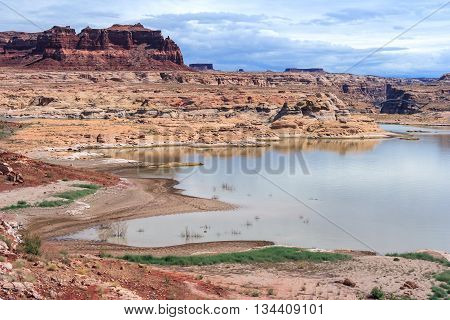 Hite Marina On Lake Powell And Colorado River In Glen Canyon National Recreation  Area