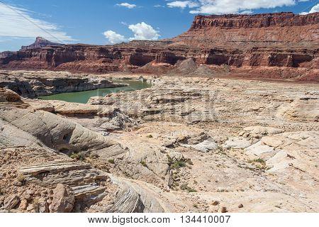 Colorado River In Glen Canyon National Recreation  Area