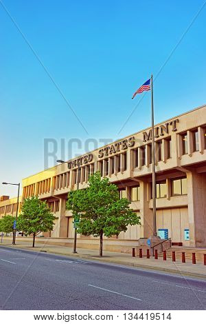 United States Mint In Philadelphia Pa