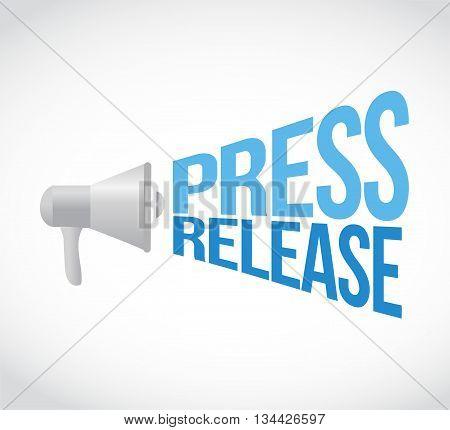 Press Release Megaphone Message