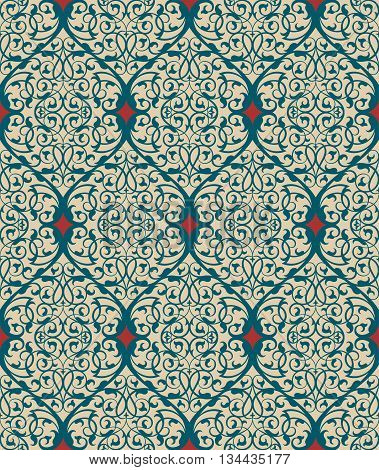 Vector abstract ornamental background. Based on ethnic ornaments. Elegant background for cards, invitations etc.