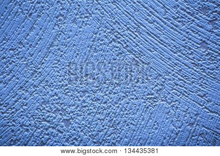 Conceptual Shot Of Blue Wallpaper With Paint Structure