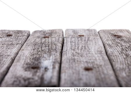 old Boards perspective white background for design