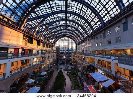 Sapporo Shopping Factory Mall Interior