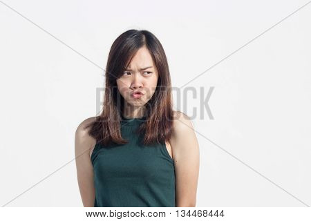 Asian Thai Girl Funny Action