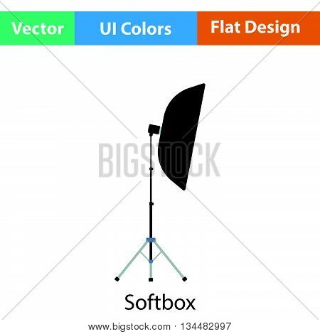 Icon Of Softbox Light