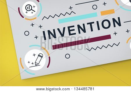 Invention Innovate Create Design Graphic Concept