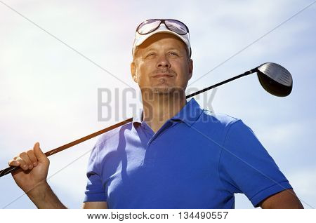 Golf player
