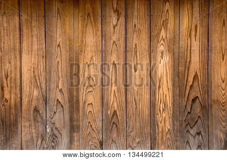 The Wood Texture With Natural Pattern For Background