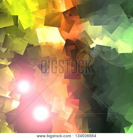 Abstract coloring background of the sunrise geometric gradient with visual  effects,good for your idea design in the project