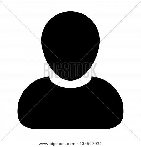 User Icon - Man, Profile, Businessman, People Icon in Glyph Vector illustration